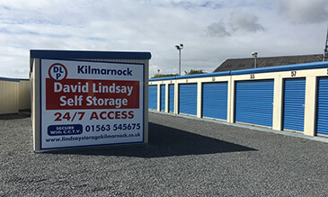 David Lindsay Kilmarnock Self Storage